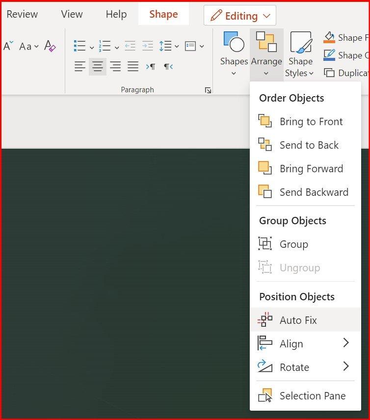 Microsoft PowerPoint Auto Fix