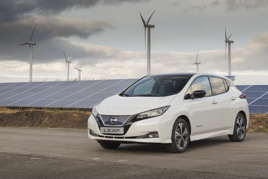 Nissan LEAF - Parque Solar en Sunderland - Reino Unido